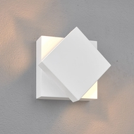 Bruck 103601WH Scobo Contemporary White LED Wall Light Fixture