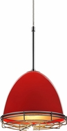 Bruck 110902-WIRE Classic Contemporary Gypsy Red Line Voltage Mini Pendant Lamp