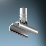 Bruck 160518 VIA Contemporary Wall and Ceiling Mounting Clip