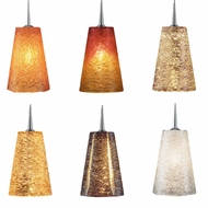 Bruck Bling II Contemporary 2  Wide Line Voltage Mini Pendant Lamp