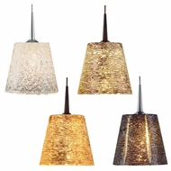 Bruck Bling I Modern 3  Tall LED Mini Pendant Light