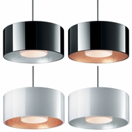 Bruck Cantara Contemporary 2  Wide Mini Pendant Light Fixture