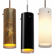 Bruck Cyrus Contemporary 2  Wide Mini Drop Lighting