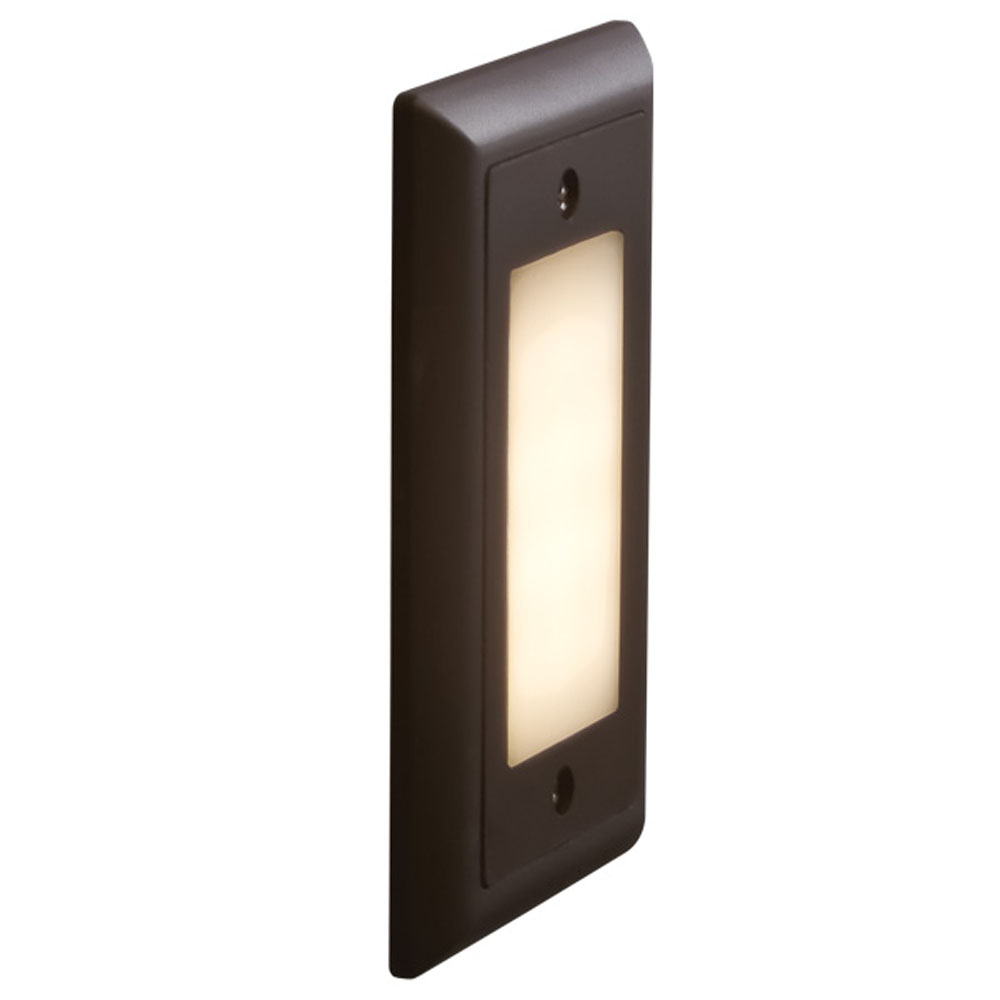 Bruck step i contemporary led exterior step light bru for Exterior led lights