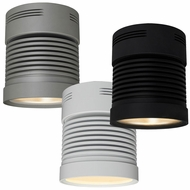 Bruck Z25 Chroma Contemporary 5.4  Wide LED Surface Mount Cylinder Ceiling Light