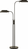 Cal BO-127FL-2L-DB Pharmacy Contemporary Dark Bronze Floor Lighting