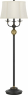 Cal BO-2586-6WY Winchester Oil Rubbed Bronze Light Floor Lamp