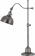 Cal BO-2588TB-AS Portico Antiqued Pewter Desk / Table Light