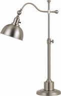 Cal BO-2588TB-BS Portico Brushed Steel Desk / Table Lighting