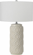 Cal BO-2592TB-2 Value Pack Stormy Grey Table Lamp (set of 2)