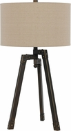 Cal BO-2626TB Tripod Iron Table Lighting