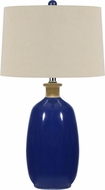 Cal BO-2631TB-2 Navy Blue Table Lamp (2 pack)