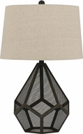 Cal BO-2641TB Sapelo Wire Lighting Table Lamp