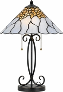 Cal BO-2642TB Tiffany Table Lamp Lighting