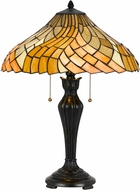 Cal BO-2643TB Tiffany Table Top Lamp