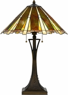 Cal BO-2645TB Tiffany Table Lamp