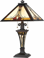 Cal BO-2647TB Tiffany Table Lighting
