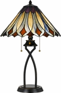 Cal BO-2648TB Tiffany Lighting Table Lamp