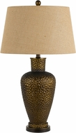 Cal BO-2654TB Mosquero Antique Brass Side Table Lamp