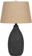 Cal BO-2680TB-2 Bosque Charcoal Ceramic Table Light (set of 2)