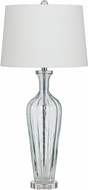 Cal BO-2685TB Mexia Glass Side Table Lamp