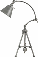 Cal BO-2713DK Merton Contemporary Antiqued Pewter Desk / Table Lighting
