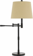 Cal BO-2715DK Monticello Oil Rubbed Bronze Lighting Table Lamp