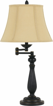 Cal BO-2716SWTB-DB Barnwell Dark Bronze Lighting Table Lamp