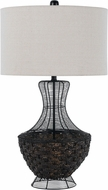 Cal BO-2722TB Marana Wicker Table Lighting