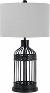 Cal BO-2723TB Birdcage Iron Lighting Table Lamp