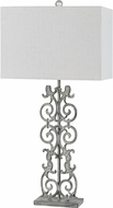 Cal BO-2747TB Vitoria Distressed White Table Lighting