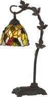 Cal BO-2754TB Cotulla Tiffany Side Table Lamp