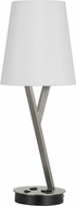 Cal BO-2760TB-BS Alester Brushed Steel Task Lamp