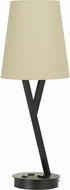 Cal BO-2760TB-DB Alester Dark Bronze Desktop Lamp