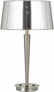 Cal BO-2761TB Winsor Contemporary Brushed Steel Table Light