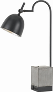 Cal BO-2770DK Beaumont Modern Black / Cement Craft Lamp
