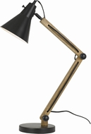 Cal BO-2776DK Scotia Dark Bronze / Wood Study Lamp