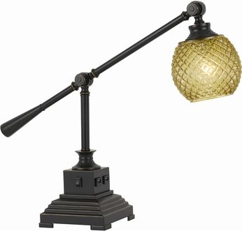 Cal BO-2777DK Brandon Retro Dark Bronze Desk Lamp