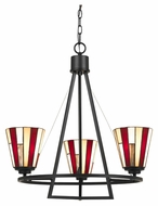 Cal FX-3543/3 Imperial 14.5  Tall Transitional Chandelier