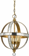 Cal FX-3571-1P Passe Mirror / French Gold Hanging Pendant Light
