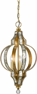 Cal FX-3574-1P Passe Mirror / French Gold Pendant Hanging Light