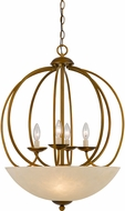 Cal FX-3579-7 Antiqued Gold Pendant Light