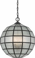 Cal FX-3607-1P Diego Contemporary Glass Pendant Hanging Light