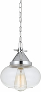 Cal FX-3624-1P Maywood Modern Chrome Mini Pendant Hanging Light