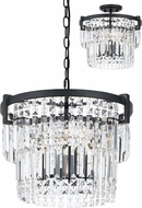 Cal FX-3647-3 Murdo Crystal Pendant Light / Ceiling Light