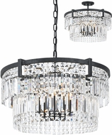 Cal FX-3647-5 Murdo Crystal Lighting Pendant / Ceiling Light Fixture