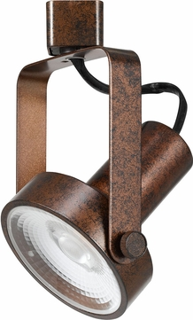 Cal HT-120-RU Contemporary Rust LED Home Track Lighting Ceiling Lighting Fixture