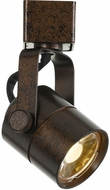 Cal HT-611S-RU Contemporary Rust LED Track Light Head