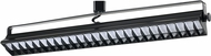 Cal HT-633L-BK Modern Black LED Track Lighting Flush Lighting