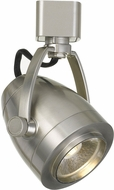 Cal HT-701-BS Contemporary Brushed Steel LED Home Track Lighting Head